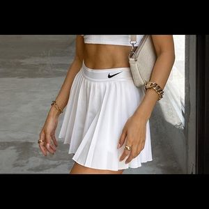 BNWT Nike Court Victory Tennis Skirt White M